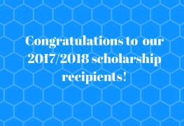 Congratulations to our 2017_2018 scholarship recipients!
